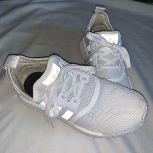 AdIdas NMD R1 Triple White Sneakers